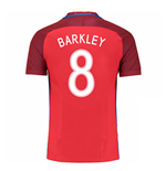 Trikot England Fussball 2016-2017 Away (Barkley 8)