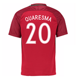 Trikot Portugal Fussball 2016-2017 Home (Quaresma 20)