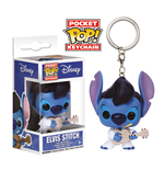 Lilo & Stitch Pocket POP! Vinyl Schlüsselanhänger Elvis Stitch 4 cm