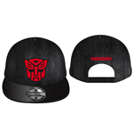 Transformers Baseball Cap 3D Red Autobot