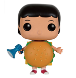 Bob's Burgers POP! Animation Vinyl Figur Burger Suit Gene 9 cm