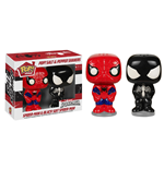 Marvel Comics POP! Home Salz- und Pfefferstreuer Spider-Man & Black Suit Spider-Man