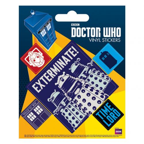 Aufkleber Doctor Who  228861
