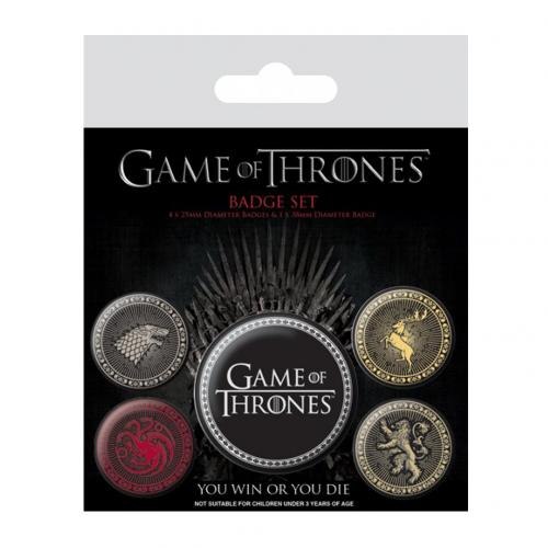 Brosche Game of Thrones  (Game of Thrones)