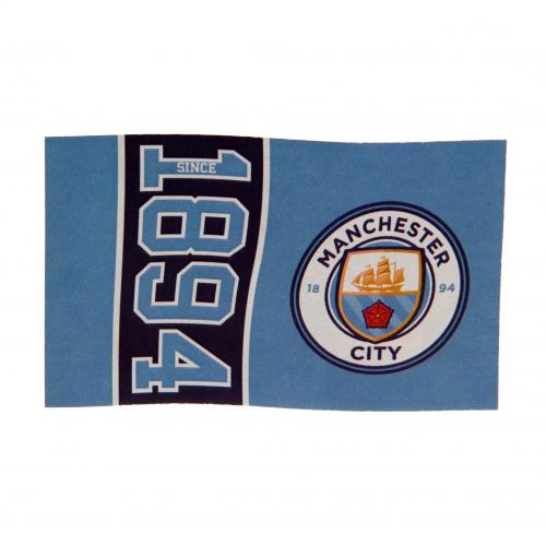 Flagge Manchester City FC SN