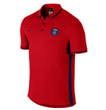Polohemd Paris Saint-Germain 2016-2017 (Rot)