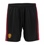 Shorts Manchester United FC 2016-2017 Home (Schwarz)