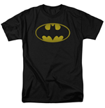 T-Shirt Batman Washed Logo
