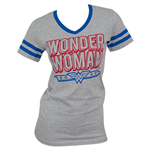 T-Shirt Wonder Woman Junior Halsausschnitt V