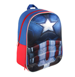 Captain America Civil War 3D Rucksack Captain America