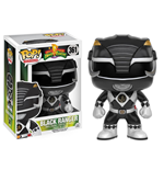 Power Rangers POP! Television Vinyl Figur Black Ranger 9 cm