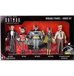 The New Batman Adventures Biegefiguren 5er-Pack Heroes 14 cm