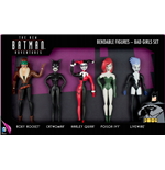 The New Batman Adventures Biegefiguren 5er-Pack Bad Girls 14 cm