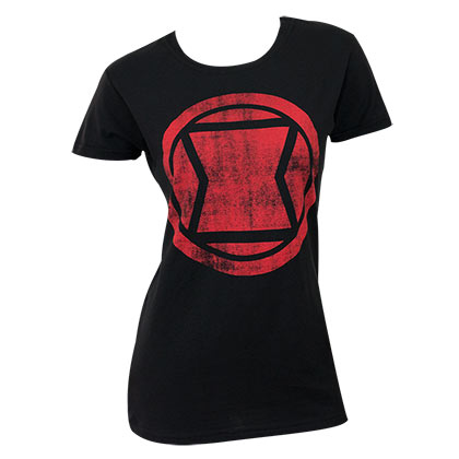 T-Shirt Black Widow für Frauen