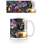 Guardians of the Galaxy Tasse Comic