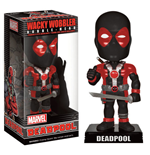 Marvel Comics Wacky Wobbler Wackelkopf-Figur Deadpool X-Force Costume 15 cm