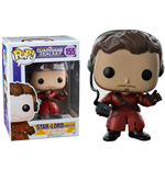 Guardians of the Galaxy POP! Vinyl Wackelkopf-Figur Star-Lord (Mixed Tape) 10 cm
