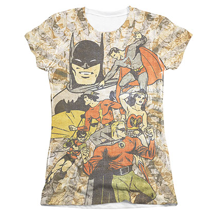 T-Shirt Justice League für Frauen