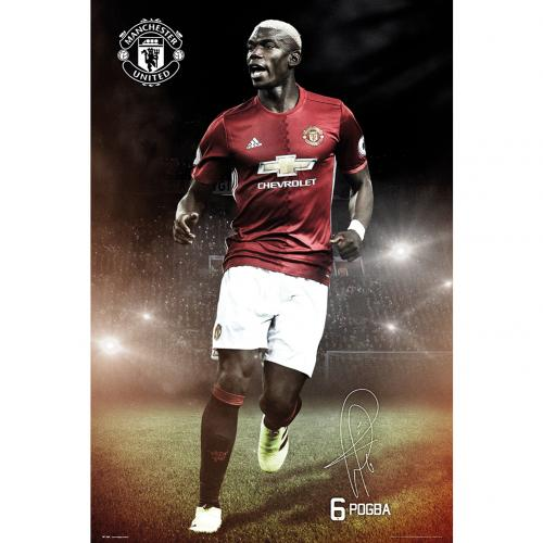 Poster Manchester United FC Pogba 20