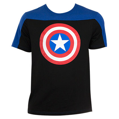 T-Shirt Captain America Two Tone