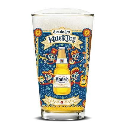 Glas Spezielles Modell Day of The Dead