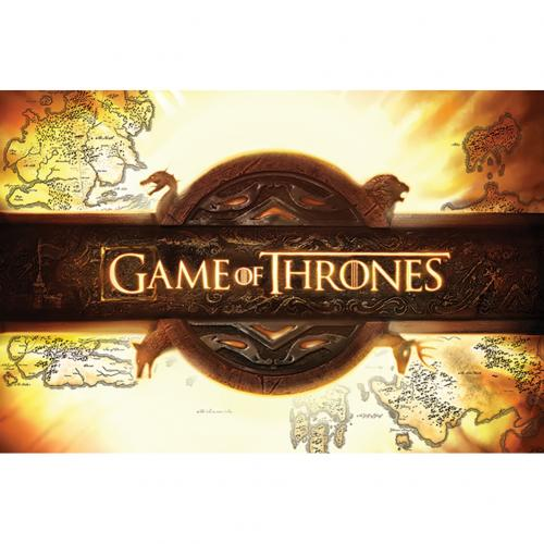 Poster Game of Thrones  (Game of Thrones) Logo