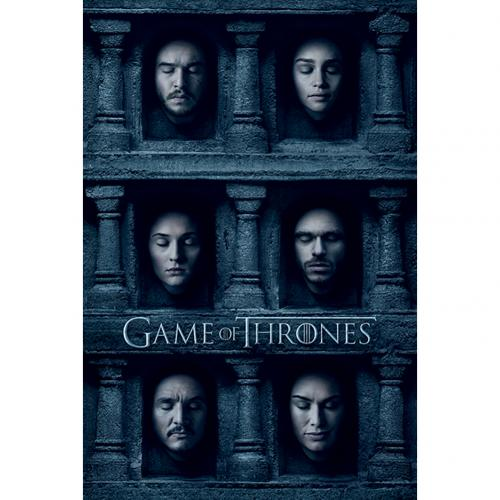Poster Game of Thrones  - Hall of Faces
