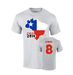 T-Shirt Chile Fussball 235203