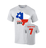 T-Shirt Chile Fussball 235204