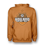 Sweatshirt Holland Fussball (Orange)