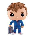 Doctor Who POP! Television Vinyl Figur 10th Doctor With Hand 9 cm