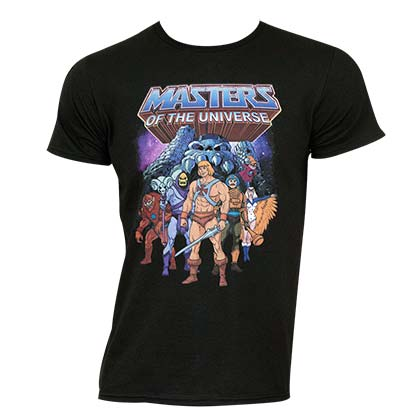 T-Shirt Masters Of The Universe Graphic Logo