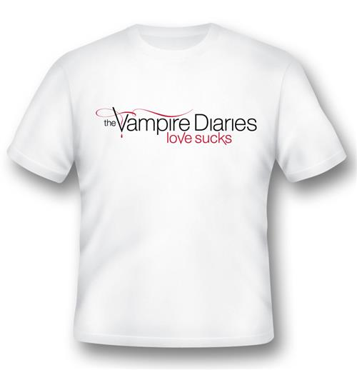 T-Shirt The Vampire Diaries Love Sucks