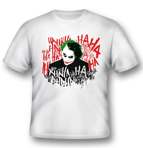 T-Shirt Batman JOKER'S Laugh