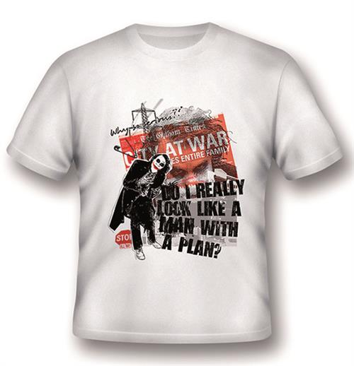 T-Shirt Batman Joker a Man with a Plan