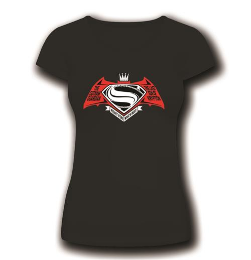 T-Shirt Batman V Superman Icon fur Frauen
