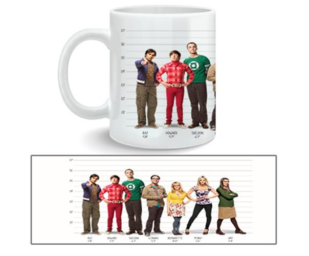 Tasse Big Bang Theory Full Cast