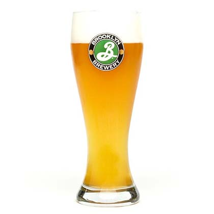 Bierglas Brooklyn Brewery.