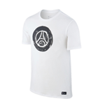 T-Shirt Paris Saint-Germain 2016-2017 (Weiss)