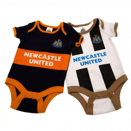 Pack Body fur Babys Newcastle United FC. 6/9 Monate