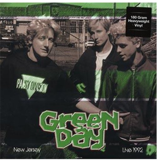 Vinyl Green Day - Live In New Jersey May 28  1992 Wfmu Fm