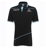Polohemd Glasgow Warriors 2016-2017 (Schwarz)