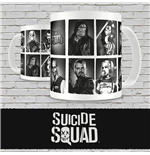 Suicide Squad Tasse Characters