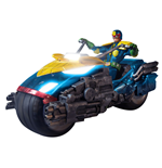 Judge Dredd Actionfigur 1/12 Judge Dredd with Lawmaster Bike Box Set Previews Exclusive 17 cm