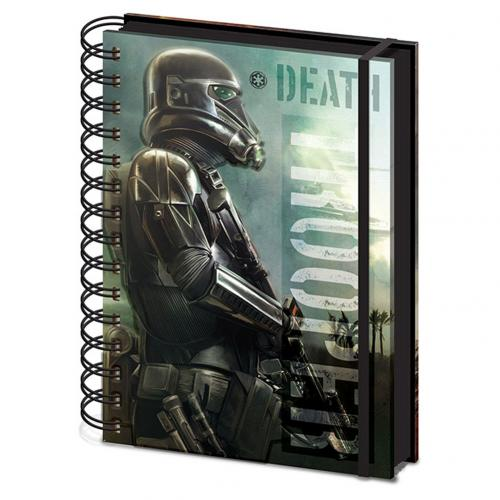 Notizbuch Star Wars Rogue One Death Trooper A5