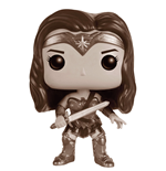 Batman v Superman POP! Heroes Vinyl Figur Wonder Woman (B&W) 9 cm