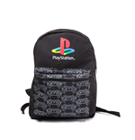 Rucksack PlayStation - Classic Logo with Controller Patern reversibel in schwarz