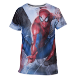 T-Shirt Spiderman Mesh Web shooter