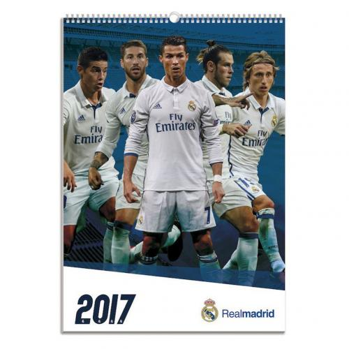 Kalender 2017 Real Madrid F.C.