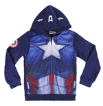 Sweatshirt Captain America für Kinder